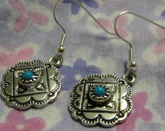 Southwestern Dangle Pierced Earrings