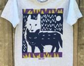 Wolf Twins Short Sleeve Unisex Tee