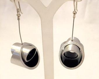 Black Kandinski LM Earrings