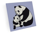 Set of 4 Panda Coasters