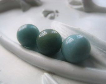 Gemstone Round Amazonite 12mm Orb Item No.  0387 5753