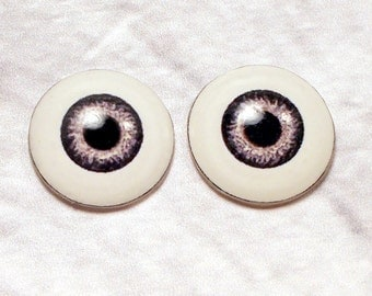 Doll eyes 8mm AD color Driftwood