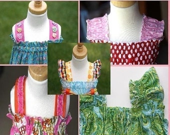SALE Whimsy Couture Tutorial -- Straps/Sleeves -- Addition To Several Of My Patterns PDF Instant