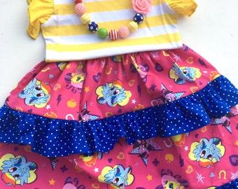 My Little Pony dress Momi boutique girls custom boutique dress