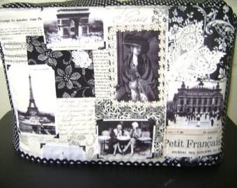Sewing Machine Cover In Paris In April Fabric