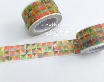 Geometric Triangles Washi Tape