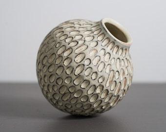 Carved Bud Vase