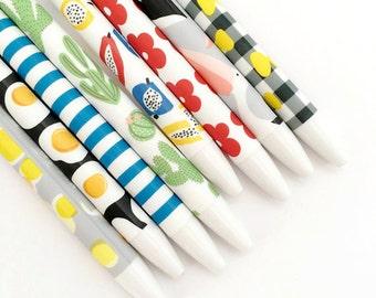 Patterned Ballpoint Pens