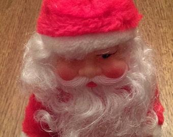 Vintage Musical Santa on a Sled