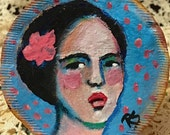 Tea Bag Portrait #26 - Rosanna