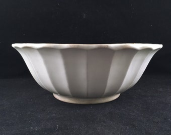 Antique/Vintage Large White WS George White Granite Well Loved Ironstone China Serving Bowl