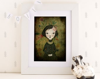 Minerva - Holli - Nursery Wall Art - Nursery Decor - Childrens Art - Kids Wall Art - Nursery Art