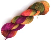 Superwash wool/polyamid sock yarn - Autumn Leaves