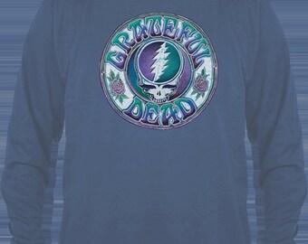 Grateful Dead Batik Bolt   LONG sleeve  Shirt  Size XL