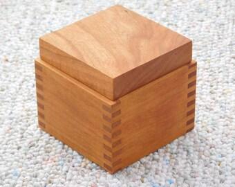 Cherry Ring Box