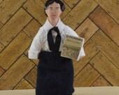 Willa Cather Doll Miniature Author Writer Classic Literature Art