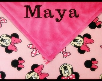 minnie mouse baby blanket personalized 28 images minnie mouse