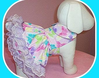 Princess Butterfly Party Dress Custom Size