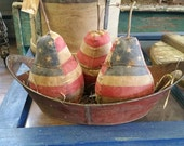 Primitive  Summer Americana Pears.   Awesome.
