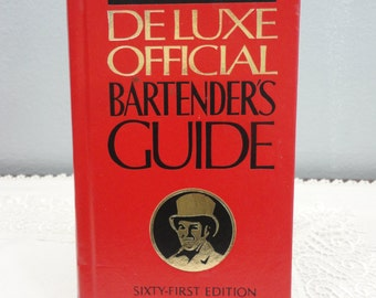Mr. Boston Deluxe Official Bartender's Guide 61st Edition - New and Revised