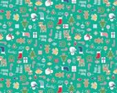 20% OFF Lori Holt Cozy Christmas Main Teal