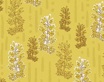 50% OFF Desert Daydreams Sagebrush Mustard - 1/2 Yard