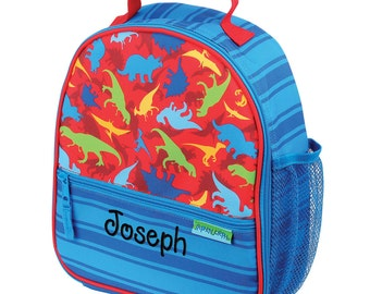 Personalized Lunch Bag  Dino Dinosaur, Insulated Monogrammed