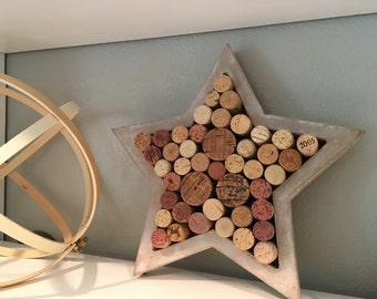 Cork Star Art