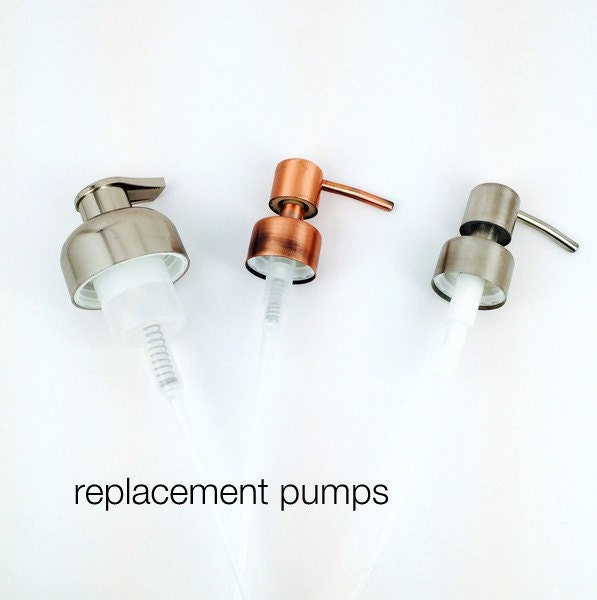 Replacement Pumps Foam Pump Brushed Nickel Soap Pump Or