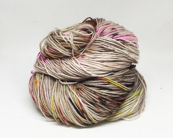Dyed to order Hand Dyed Yarn - Smells Like Teen Spirit