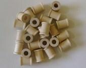 """24 Wood Spools - Unfinished Wood - 3/4"""""""