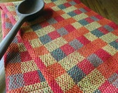Handwoven Cotton Kitchen Towel, Chef's Towel by Frederick Avenue
