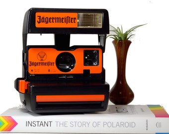 Polaroid 600 Jagermeister Edition Intant Camera - Rare, Collectable