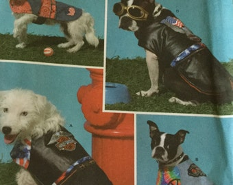 Simplicity 4274 Dog Coats, All Sizes, uncut