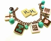 Jesus Repurposed Scrabble Tile Bracelet