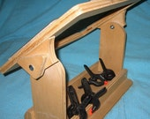 Rug Hooking Frame & Stand with storage tray, carder strips and clamps - Heavy duty - collapses for travel or storage.