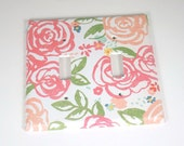 RESERVED for Beth   Switch Plate  in Savannah   Toggle Rocker Combo  (124TRC)