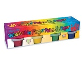 Washable Finger Paint Set and Paper - Kids Craft fnt