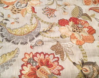 Kaufmann Floral Design  Fabric- Soil and Stain Repellent - 2 yards