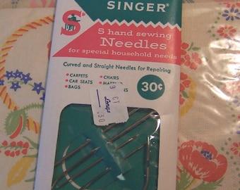 vintage singer sewing needles