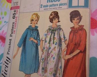 vintage jiffy robe pattern