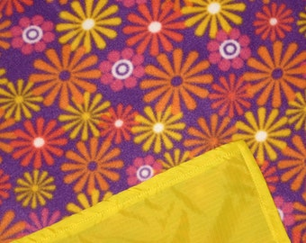 Picnic Blankets - Waterproof Picnic Blanket - Hippie Flowers