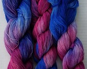 Divine Merino Lace Yarn Hand Dyed Color #50 70 - 100g/ 630 - 900m