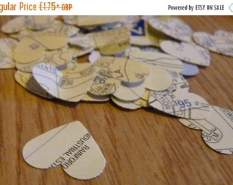 SUMMER SALE London map heart confetti