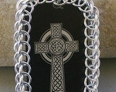 Chaimaille Wrapped Celtic Cross Pendant