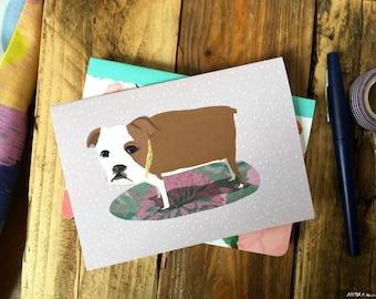 Carpet Dog Card cc98
