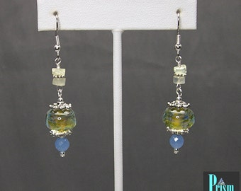 Lampwork Dangle Earrings 1