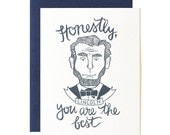 Lincoln Illustrated Card