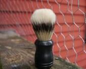 Shaving Brush- Boar Bristle, black, wet shaving, shaving soap, natural shaving, men's grooming, beard,