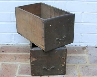 Vintage Wooden Box Vintage Wooden Drawer Vintage Wooden Boxes Drawers